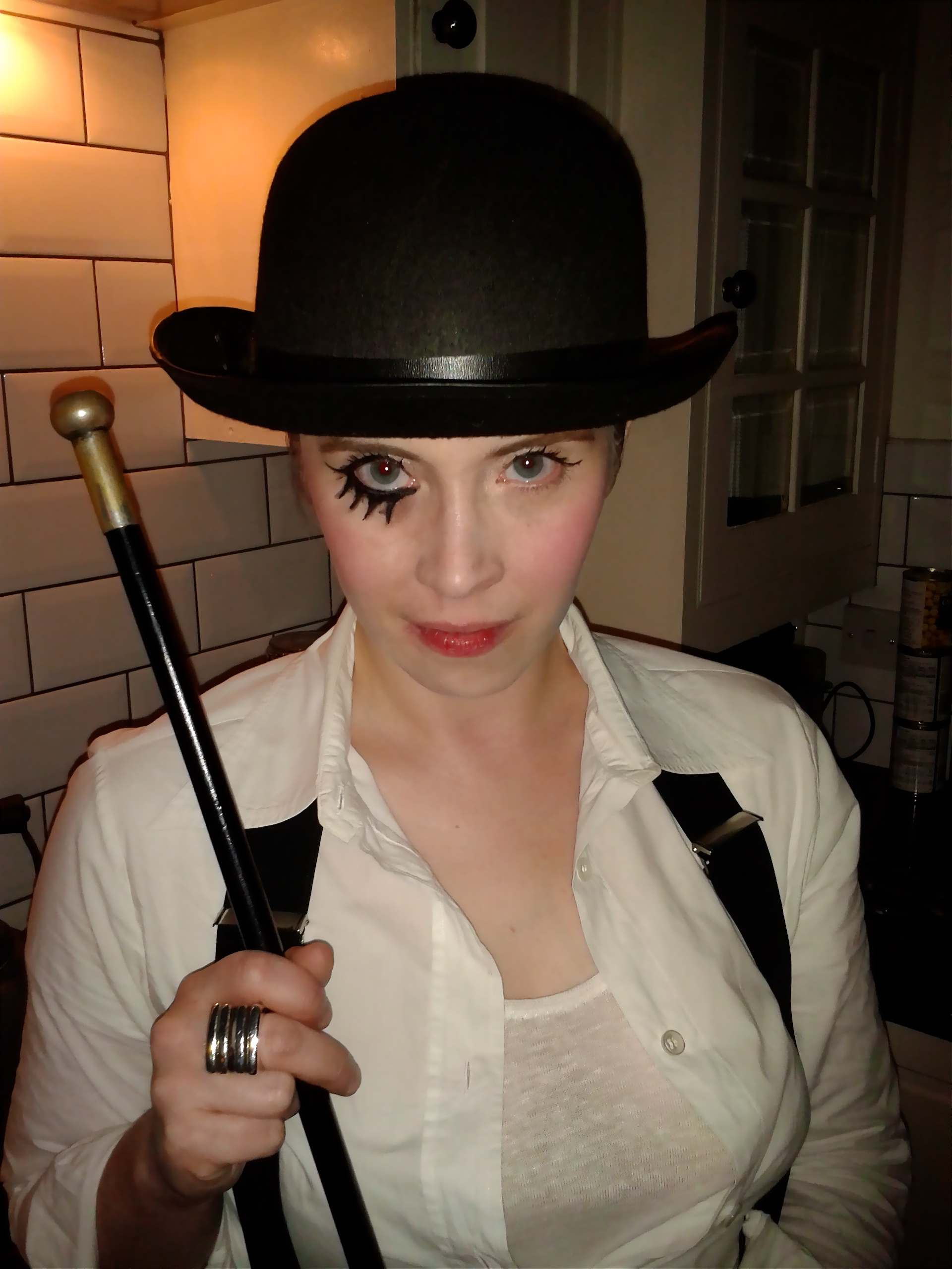 Clockwork Orange...A Clockwork Orange Cosplay