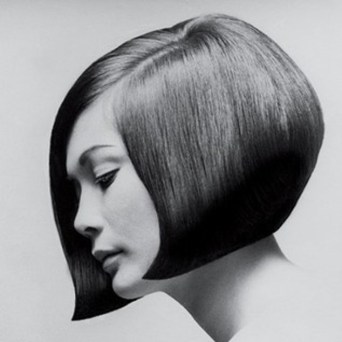 Nancy Kwan with her famous Sassoon haircut. Pic by Terence Donovan