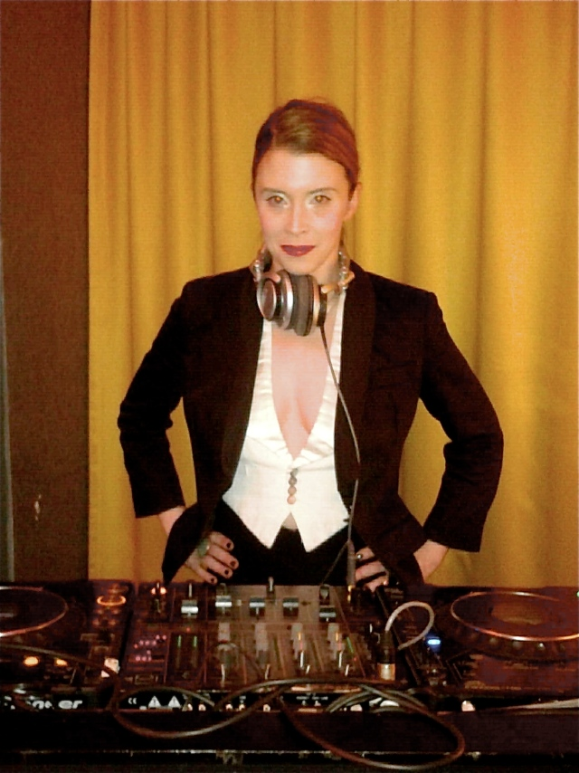 DJing at Harvey Nichols Great Gatsby party NYE 2012