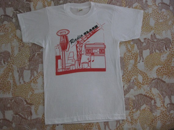 Vintage Clash T-shirt from  Rainbow Gasoline on etsy