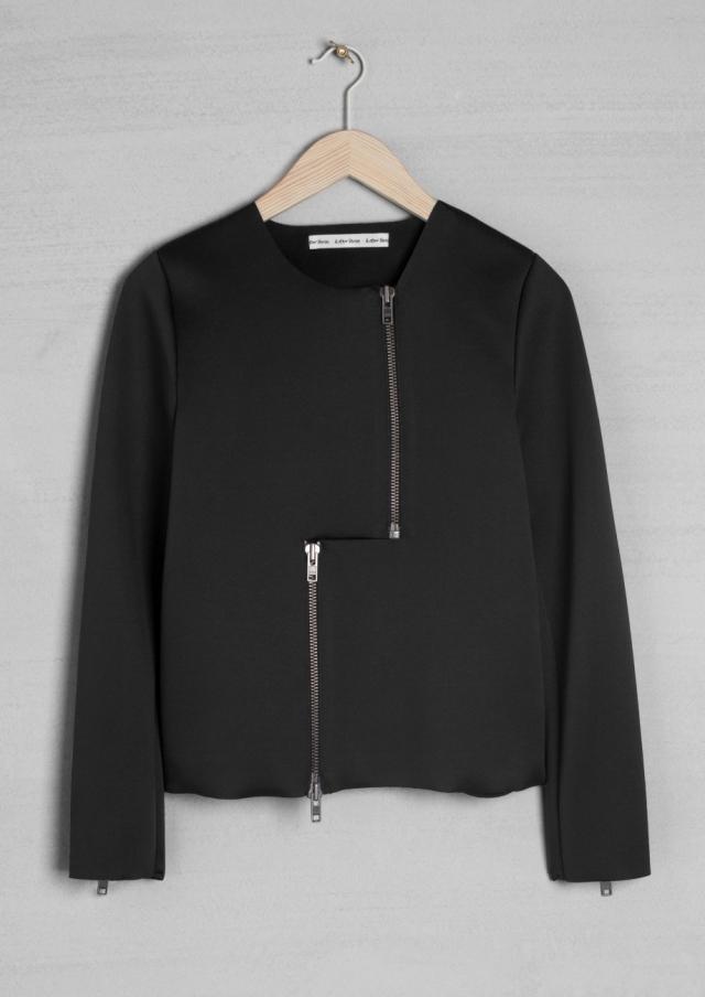 Laser cut scuba jacket - £65