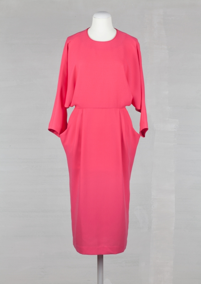 Open back crepe dress - £65