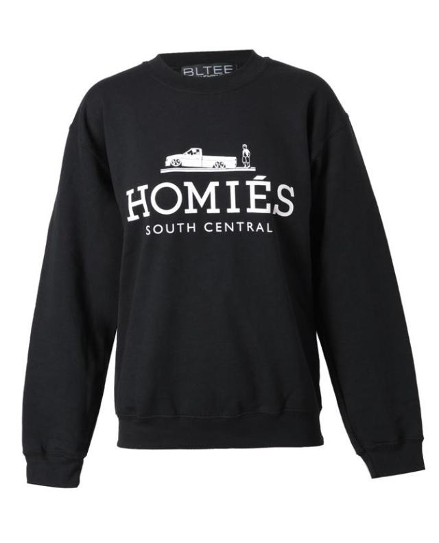'Homies' sweatshirt by Brian Lichtenberg