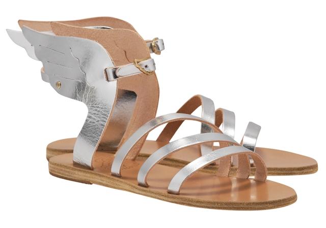 Ikaria Silver Sandals - €150.00