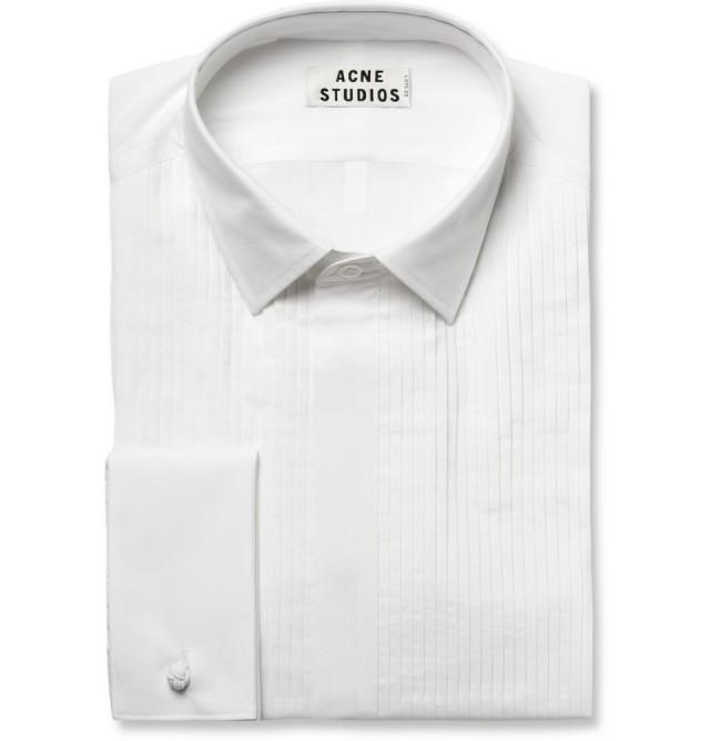 Acne Ritz Tuxedo Shirt