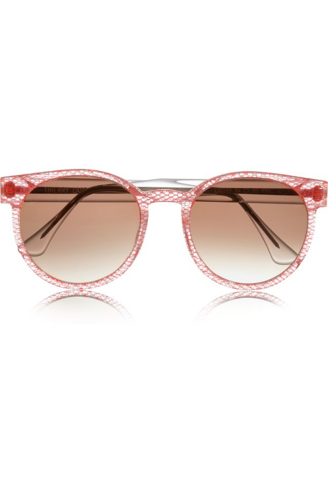 Excity round-frame sunglasses from Net-A-Porter