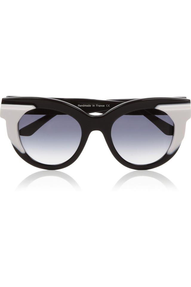 Two-tone acetate cat-eye sunglasses from Net-A-Porter