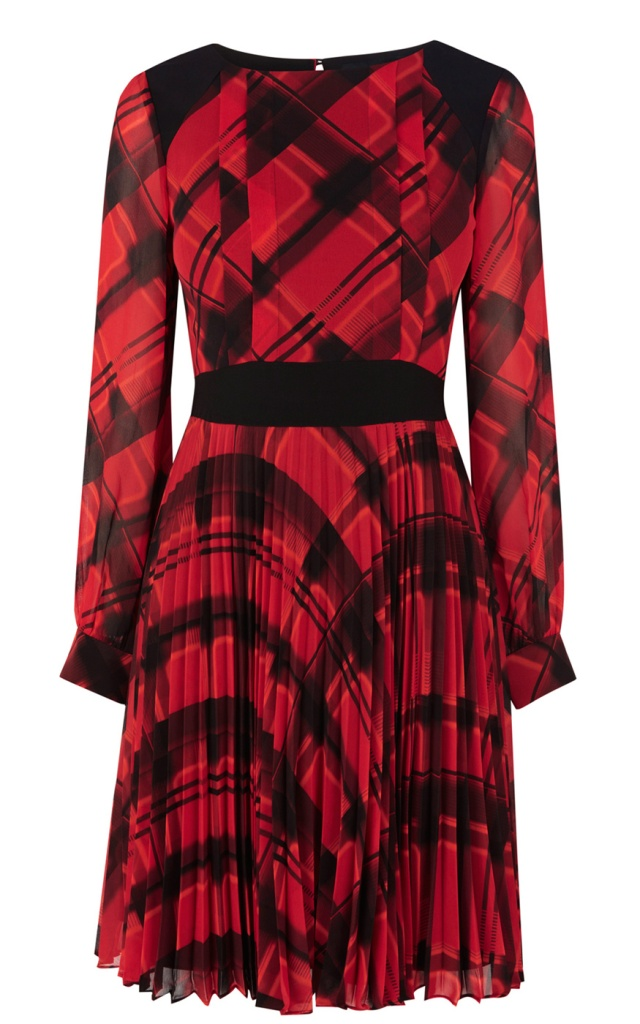 Karen Millen check print dress - €215.00