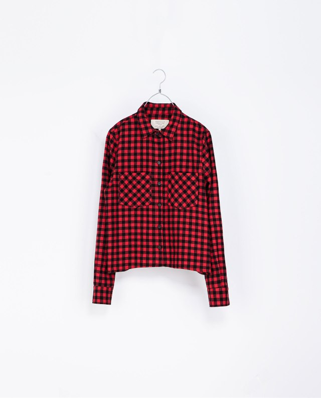 Zara Check Shirt - €39.95