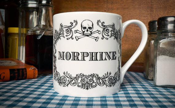 Morphine Mug by Skullbag