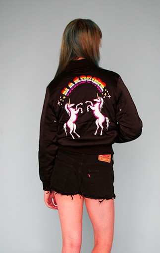 """Unif """"Hardcore"""" bomber jacket"""