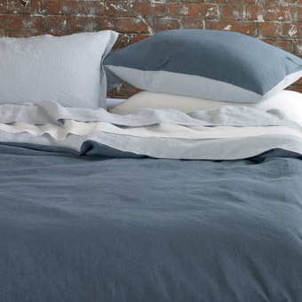 Luxurious linen bedding from Designer's Guild