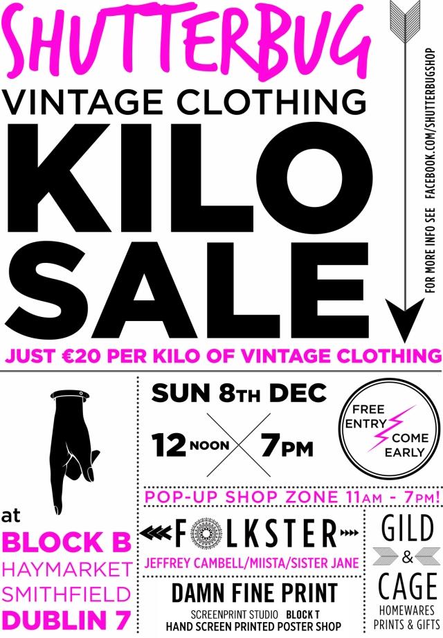 Shutterbug Kilo Sale Flyer