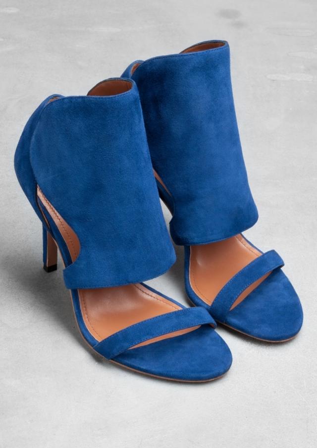 Suede Sandals - €85