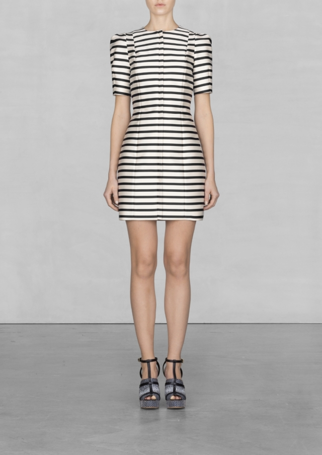 Striped Dress - €85