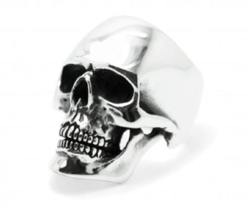 Medium Anatomical Skull Ring
